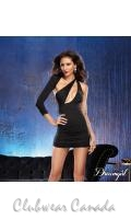 Bodycon Asymmetrical Mini Dress  DG-9791
