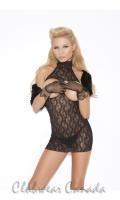 Cupless Lace Dress  EM-8527