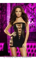 Backroom Mini Dress  LD-LC-20-BK