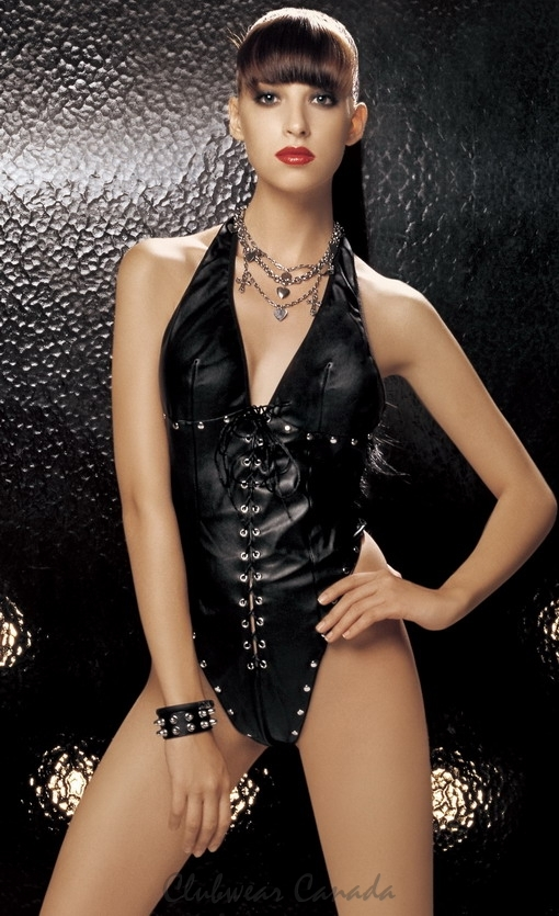 Faux Leather Teddy  SM-80446